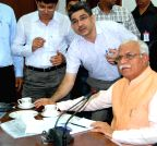 Haryana CM launch online admissions in Industrial Training Institutes