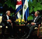 CUBA-HAVANA-EL SALVADOR-POLITICS-VISIT
