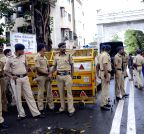 Heavy security near Yakub Memon's house