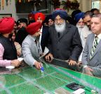 Hoshiarpur: Parkash Singh Badal during the inauguration of Centre of Excellence for Fruits