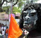 Hyderabad: Ram Navmi procession rally