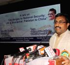 Hyderabad: Ram Madhav talks on `Challenges to National Security : JK to Arunachal, Pakistan to China`