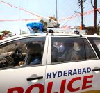 Hyderabad: CC camera installed on telangana police vehicle