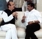 Hyderabad: Botsa Satyanarayana meets Ghulam Nabi Azad