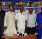 Hyderabad: `Shani Devudu` - press meet