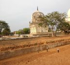 Hyderabad: Restoration work underway at Qutb Shahi tombs