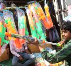 Hyderabad: Holi shopping