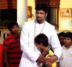 Hyderabad: Stills of telugu movie Father