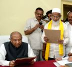 Hyderabad: MA Sharif takes oath as MLC