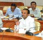 Hyderabad: E Rajender during a video conference