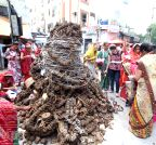 Hyderabad: `Holika dahan`