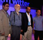 Sunil chetri at `#RiseWithTwitter`