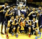 4th South Asian Basketball Championship - India vs Sri Lanka
