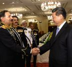 PAKISTAN-CHINA-XI JINPING-MILITARY LEADERS-MEETING