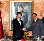 PAKISTAN-CHINA-XI JINPING-MEETING