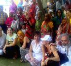 Italian delegates visit Jayapur village
