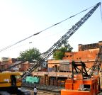 Jaipur: Crane collapses in Jaipur