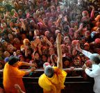 Jaipur: Holi celebrations at Govind Devji temple