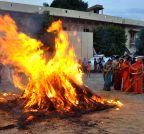 Jaipur: `Holika Dahan`