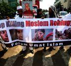 INDONESIA-JAKARTA-MIGRANTS-PROTEST