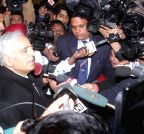 Jammu: J&K CM talks to press
