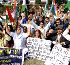 Jammu: POK refugees' demonstration