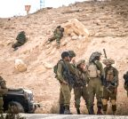 Jerusalem: Israeli soldiers stand near the Israel and Egypt border