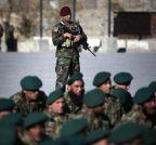 Kabul (Afghanistan):  Afghan Army graduation ceremony