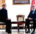 AFGHANISTAN-KABUL-AUSTRALIA-FM-VISIT