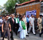 Kakarvitta (Nepal): WB CM visits earthquake hit Kakarvitta