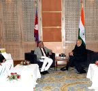 Kathmandu: CPN-UML leaders call on PM Modi