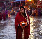 Kathmandu: Chhath festival