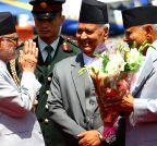 NEPAL-KATHMANDU-PRESIDENT-ARRIVAL