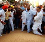 Khanna: Rahul Gandhi visits Khanna Mandi
