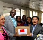 JAMAICA-KINGSTON-CHINESE MEDICAL DONATION-BRIGHT JOURNEY