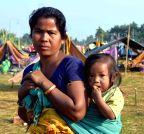 Kokrajhar: Villagers take refuge in makeshift relief camps