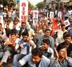 Kolkata: Rally of taxi union