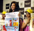 Kolkata: Rituparna Sengupta during an awareness programme