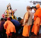 Kolkata: Saraswati idol immersions