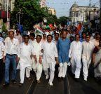 Kolkata: Congress' `Lalbazar Abhiyan`