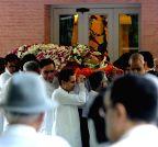 Kolkata: Sarala Birla's funeral