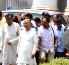 Kolkata: Left Front legislators walk out of WB assembly