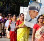Kolkata: Demonstration against Mohan Bhagwat