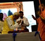 Kolkata: WB Governor during 91st Vyasa Puja celebrations