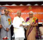 Kolkata: KN Tripathi, Mridula Sinha during a programme