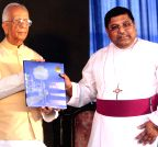 Kolkata: WB Governor, Bishop of Calcutta during a school programme