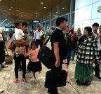 MALAYSIA-KUALA LUMPUR-NEPAL-EARTHQUAKE-PASSENGERS
