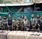Kupwara: Army recovers arms and ammunitions from Lolab forest