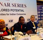 African seminar series on `the Land of Unexplored Potential Trade and Investment opportunities for Indian Companies`