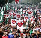 PAKISTAN-LAHORE-PROTEST